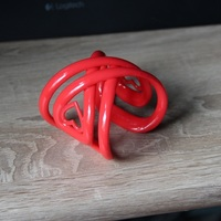 Small Infinite Love Bracelet 3D Printing 18