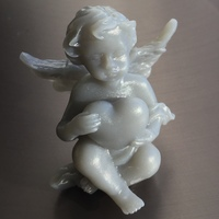 Small Angel with heart 3D Printing 18104