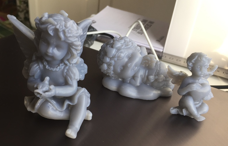 Angel with heart 3D Print 18105
