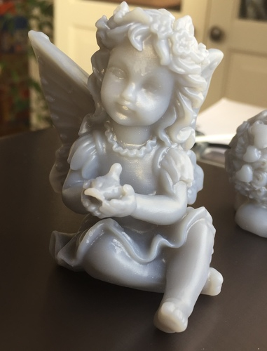 Fairy with a dove in his hands 3D Print 18109