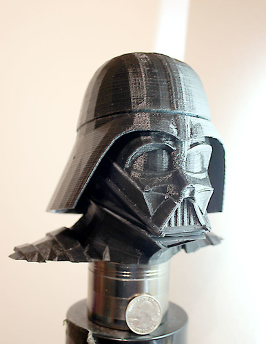 Darth Vader bust - Easy print 3D Print 18184