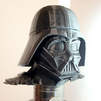 Small Darth Vader bust - Easy print 3D Printing 18184