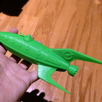 Small Planet Express Ship [Futurama] 3D Printing 18247
