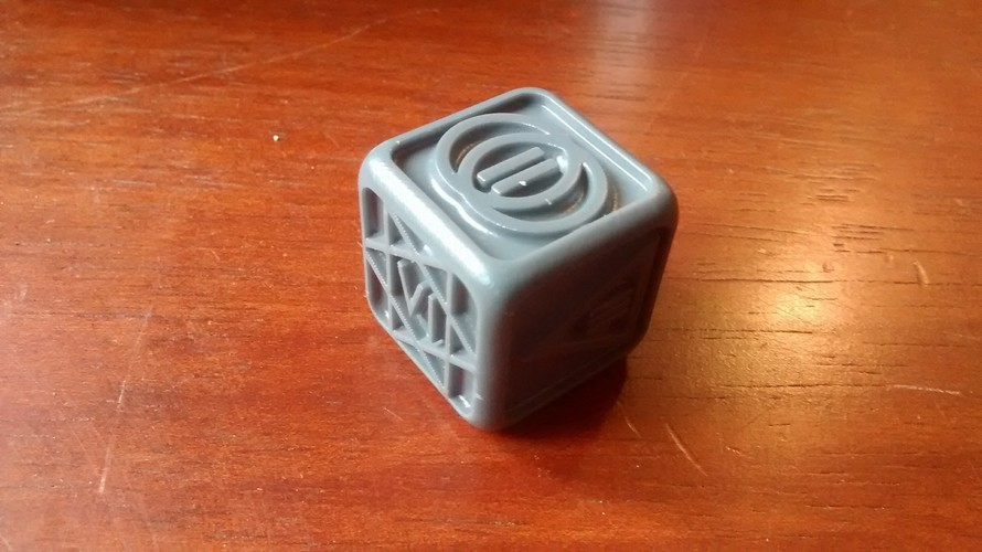 Poker Dice for Dice Poker (Witcher 2) 3D Print 18263