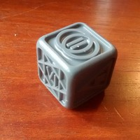 Small Poker Dice for Dice Poker (Witcher 2) 3D Printing 18263