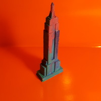 Small Empire State Building 3D Printing 18296