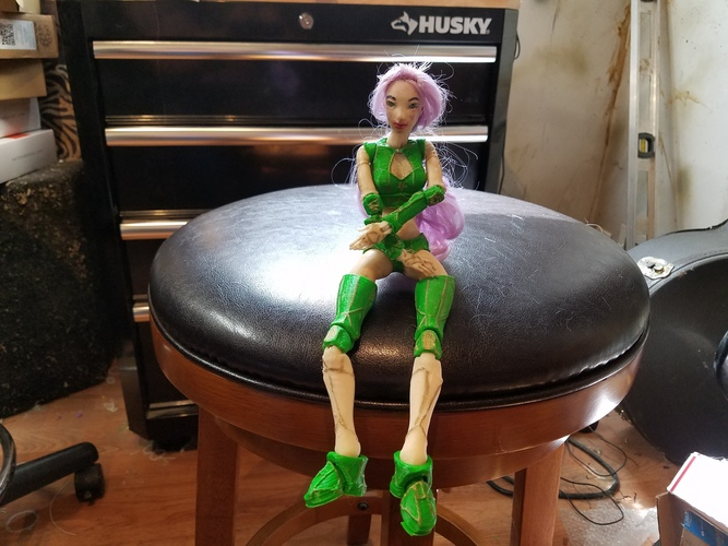 "Jointed Doll ""Lantea"" 3D Print 18305"