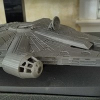 Small Millenium Falcon 3D Printing 18380