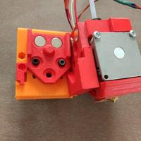 Small DICE x carriage adapted to OpenBuilds mini v wheel plate 3D Printing 18389