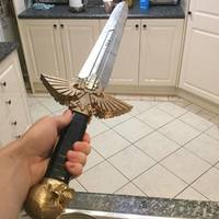 Small Warhammer 40K - Inquisitor Sword 3D Printing 18402