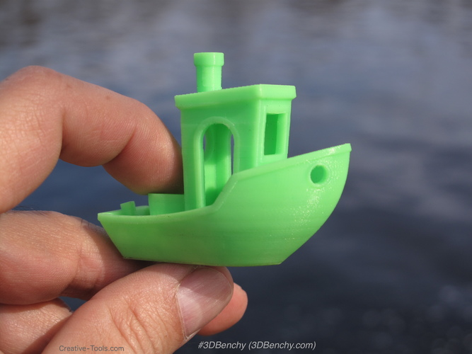 #3DBenchy - The jolly 3D printing torture-test 3D Print 185