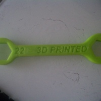 Small 22mm wrench 3D Printing 18515