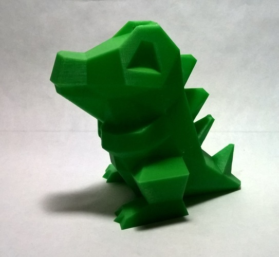 Low Poly Pokemon  3D Print 18539