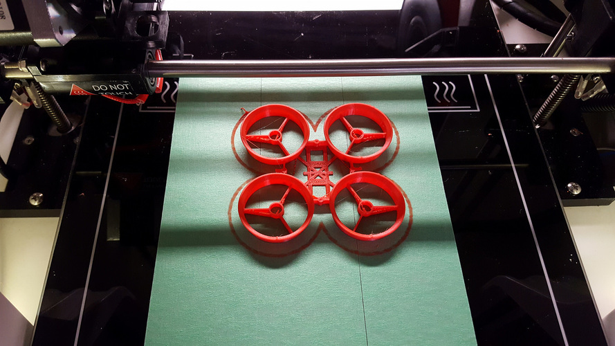Inductrix / Tiny Whoop light racing frame 3D Print 18542