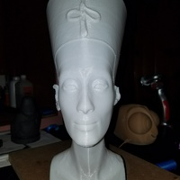 Small Nefertiti Bust [Hollow] 3D Printing 18550