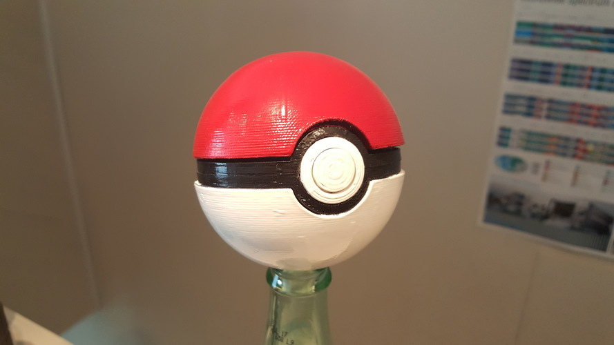 Pokeball remix 3D Print 18593