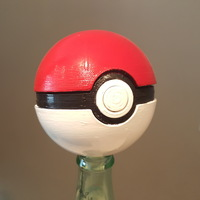 Small Pokeball remix 3D Printing 18593