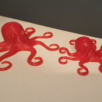Small Flexible Octopus 3D Printing 18594