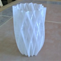 Small Vase - 16 pointed 3D Printing 18596