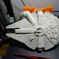 Small Millenium Falcon 3D Printing 18601