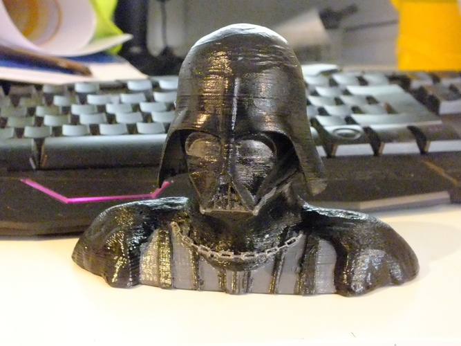 Darth Vader Reveal Bust 3D Print 18608