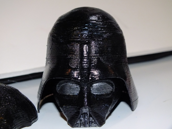 Darth Vader Reveal Bust 3D Print 18616