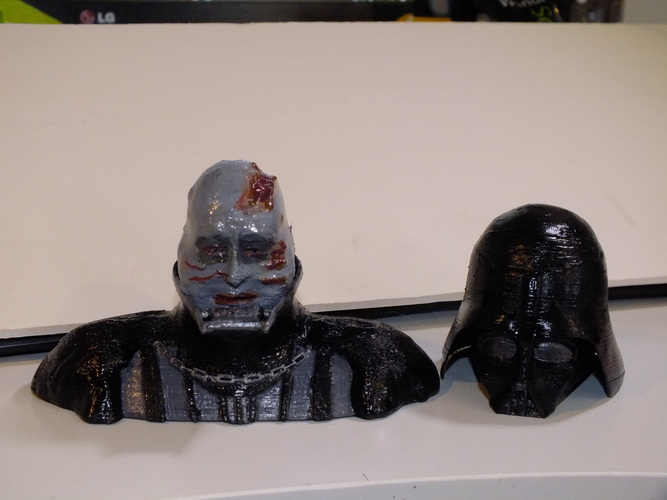 Darth Vader Reveal Bust 3D Print 18617