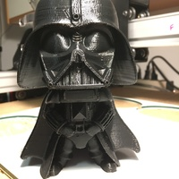 Small Star Wars - Darth Vader (Anakin Skywalker)  3D Printing 18648