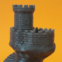 Small Spiral tower 3D Printing 18692