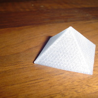 Small The Louvre Pyramid  3D Printing 18749