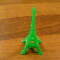Small The Eiffel Tower Miniature 3D Printing 18750