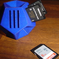 Small Small SD/MicroSD holder 3D Printing 18754
