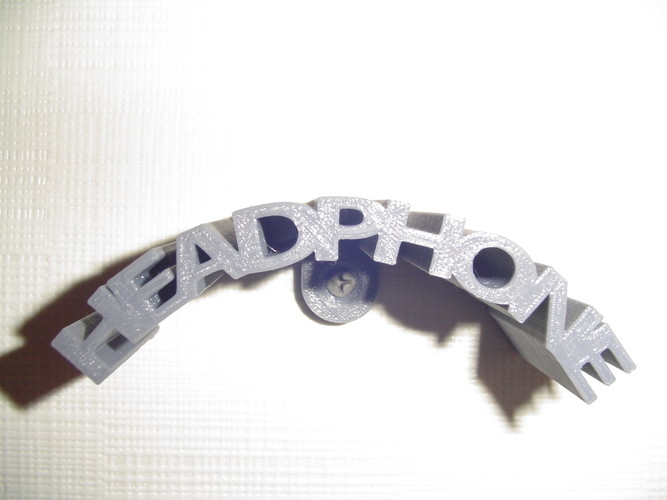 Headphone holder 3D Print 18758