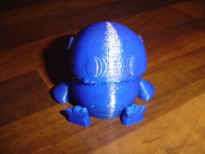 Wip: Tiny articulated bot 3D Print 18761