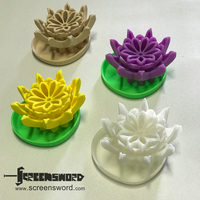 Small Lotus Dry Soap Dish 3D Printing 18847