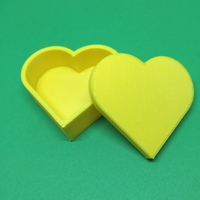 Small Heart jewelry box 3D Printing 19005