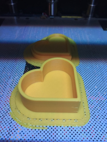 Heart jewelry box 3D Print 19006