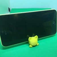 Small  Keichain / Smartphone Stand Cat 3D Printing 19008
