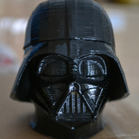 Small Darth Vader bust - Easy print 3D Printing 19034