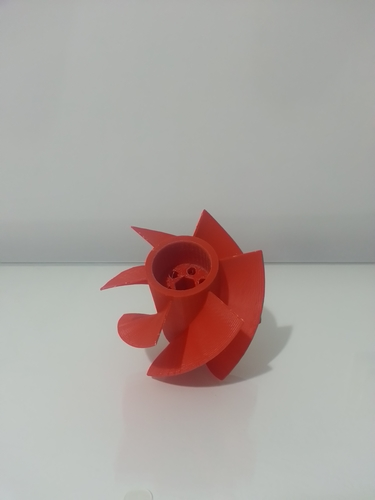 Super Turbine Fan 3D Print 19066