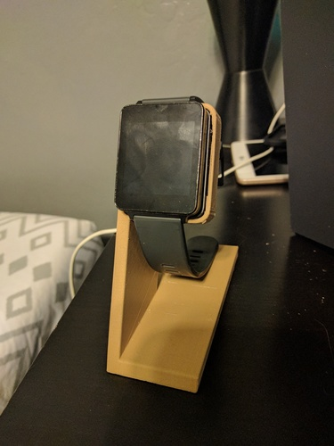LG G Watch Charging Stand 3D Print 19167