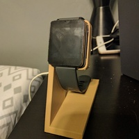 Small LG G Watch Charging Stand 3D Printing 19167
