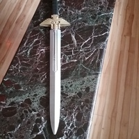 Small Warhammer 40K - Inquisitor Sword 3D Printing 19219