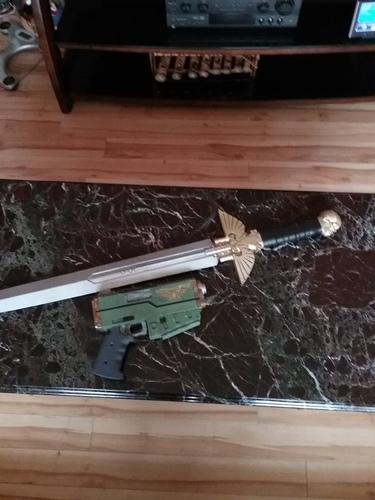 Warhammer 40K - Inquisitor Sword 3D Print 19222
