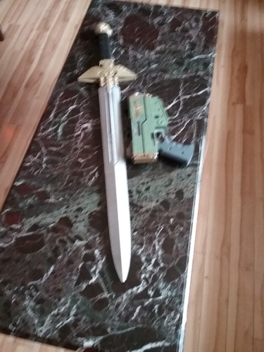 Warhammer 40K - Inquisitor Sword 3D Print 19224