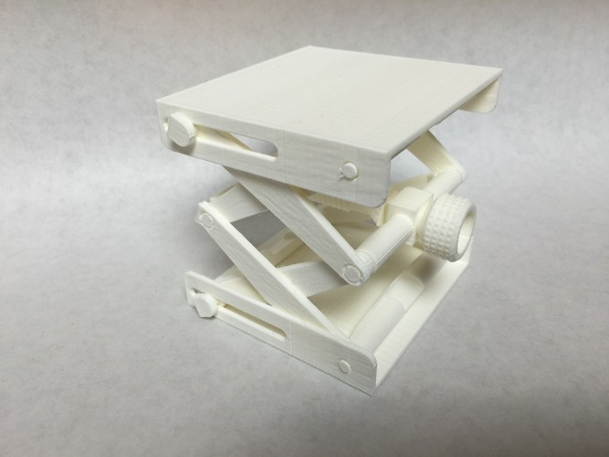 Platform Jack [Fully Assembled, No Supports] 3D Print 19230