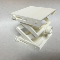 Small Platform Jack [Fully Assembled, No Supports] 3D Printing 19230