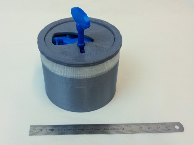 Lockable Container 3D Print 19246