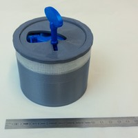 Small Lockable Container 3D Printing 19246