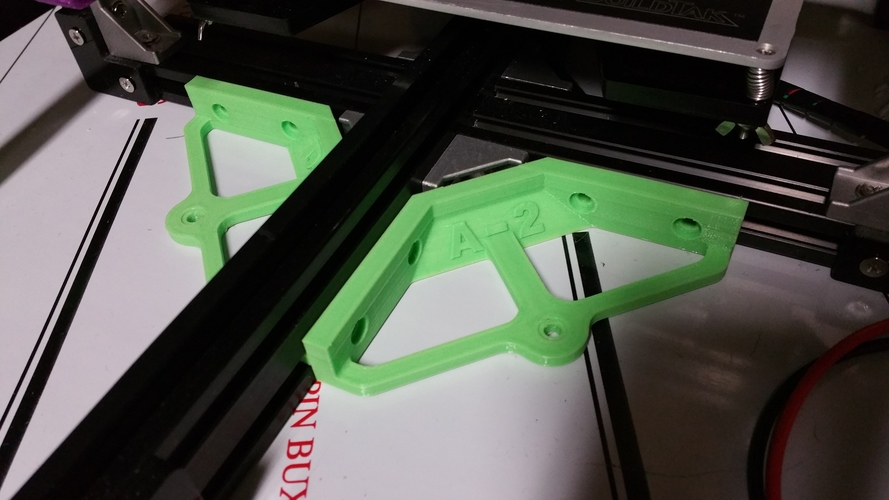 Anet A2 2020 gusset table mount 3D Print 19304